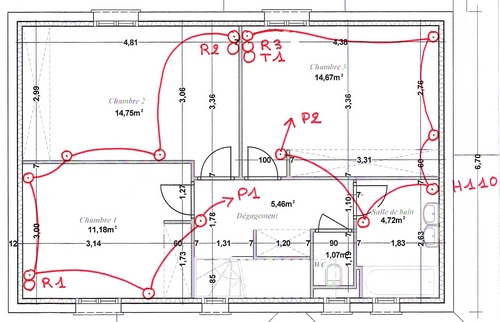 hauteur prise electrique du circuit lectrique du four et sche with hauteur prise electrique. Black Bedroom Furniture Sets. Home Design Ideas